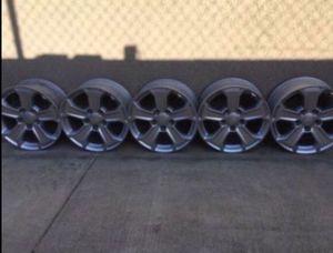 """Five Jeep Wrangler 17"""" wheels for Sale in La Mirada, CA"""
