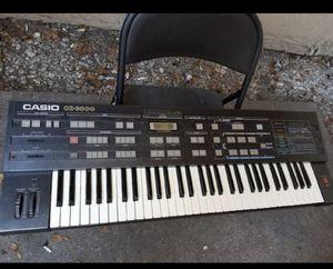 Casio cz 3000 synthesizer for Sale in Stockton, CA