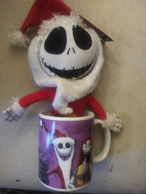 Nightmare before Christmas plush mug for Sale in Portland, OR