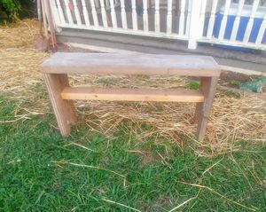 Farmhouse / Garden Wood Bench for Sale in Knoxville, TN