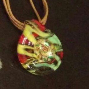 New Murano Glass Pendant for Sale in Campbellsport, WI