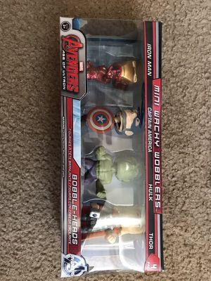 Marvel Avengers 4pack mini bobble heads for Sale in Casa Grande, AZ