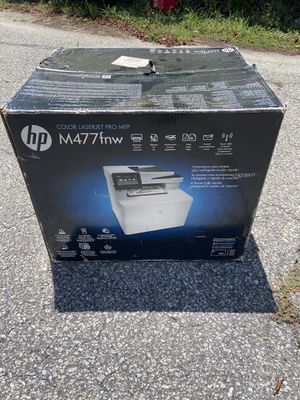 HP M477fnw Wireless/USB Multifunction Color Laser Printer, Scanner and Copier for Sale in Charleston, SC