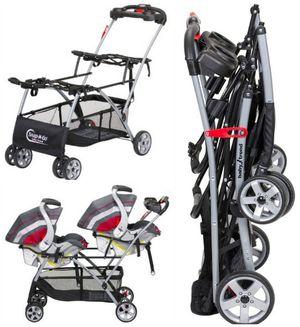 BabyTrend Snap n Go double stroller for Sale in Lawrenceville, GA