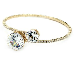 Gold inlaid crystal bracelet for Sale in Woodside, CA