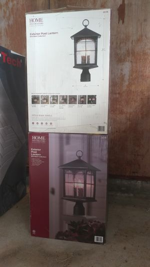 Outdoor post lights for Sale in Kailua-Kona, HI