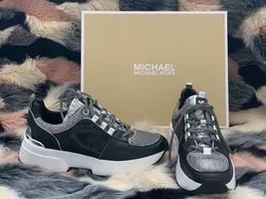 Michael Kors Cosmo Trainer Metallic Mesh 7.5 NIB for Sale in Queens, NY