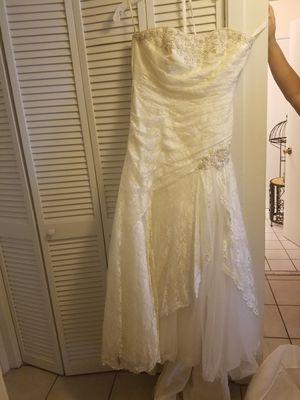 Wedding dress size 16 make offer for Sale in Mobile, AL