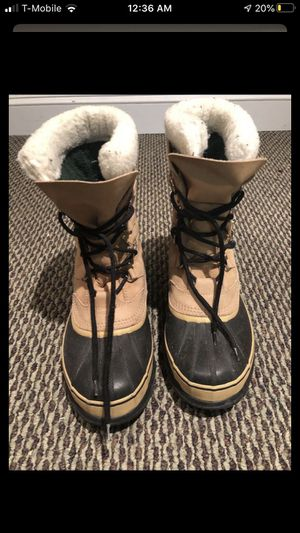 Sorel men's size 10.5 snow boot for Sale in Fairfax Station, VA