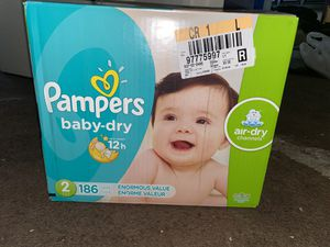 Pampers Diapers size 2 months for Sale in Moreno Valley, CA