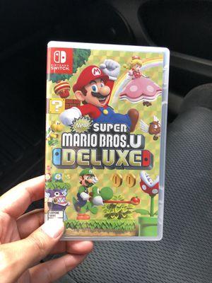 Super Mario Bros. U Deluxe - Nintendo Switch for Sale in Los Angeles, CA