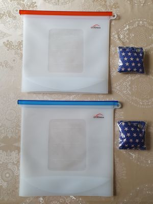 Reusable Silicone Food Storage Bags for Sale in Huntersville, NC