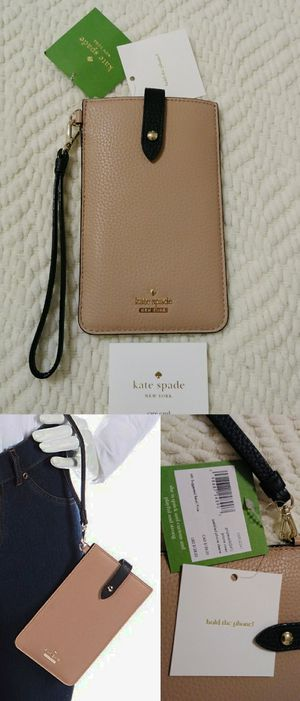 Brand new kate spade Leather Phone Sleeve / phone case / wristlet wallet [🔎Read full listing before messaging] for Sale in Glendale, AZ
