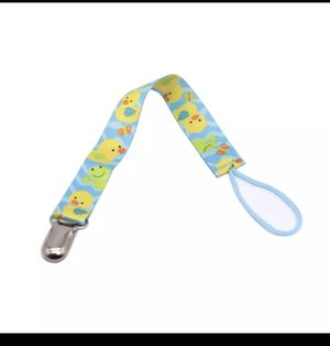 Pacifier clips and infant finger toothbrush bundle for Sale in Endicott, NY