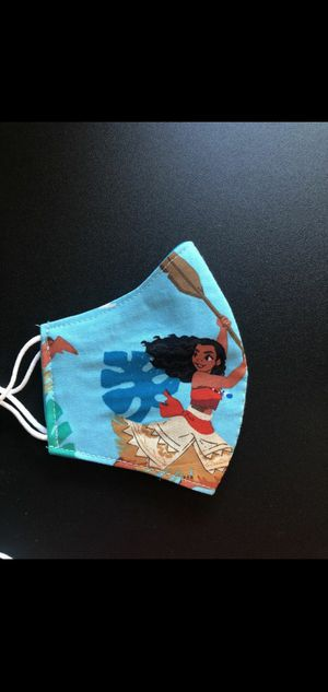 Disney Moana Adjustable Cloth Facemask for Sale in Arlington, TX