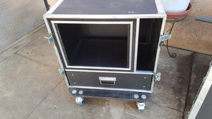 Amp Rack with storage cabinet for Sale in Santa Fe Springs, CA