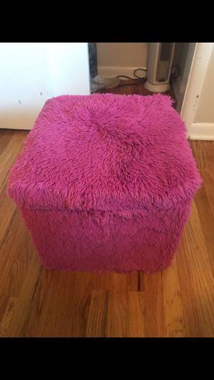 Pink ottoman for Sale in Millcreek, UT