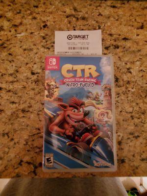 Crash Team Racing - Nintendo Switch for Sale in Renton, WA