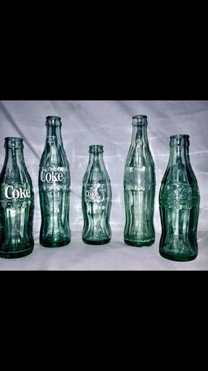 Vintage Collectible Coke Bottles . for Sale in Columbia, LA