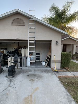 20' foot ladder aluminum for Sale in Kissimmee, FL