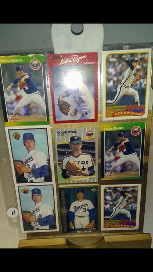 Nolan Ryan MLB Baseball Cards - 1990's - Lot of 12 - Mint *see cards - Not Graded. Card, Set, Collection, Collector, Cheap, For Sale Near Me for Sale in Nashville, TN