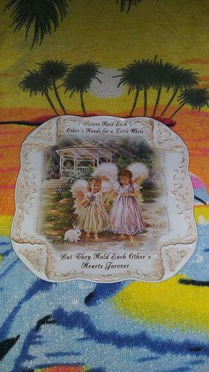 "Dona Gelsinger's ""Sisters Love Forever"" Precious Treasures Plate for Sale in El Cajon, CA"