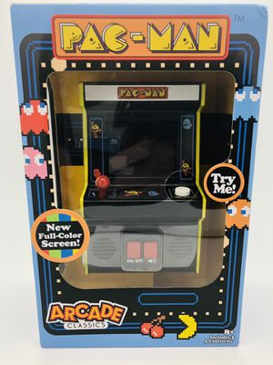 PAC-Man mini retro arcade game. New unopened for Sale in Fort Mill, SC