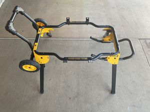 ⚠️ DEWALT Rolling Table Saw Stand⚠️ for Sale in Fontana, CA