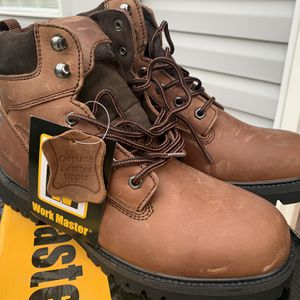 Work Master Crazy Horse Boots Size 10.5 for Sale in Ellenwood, GA