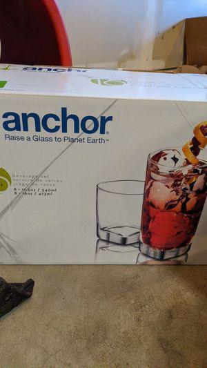 Anchor Glasses (not full set) for Sale in Lake Stevens, WA