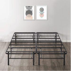 King Platform Metal Bed Frame for Sale in San Marcos, CA