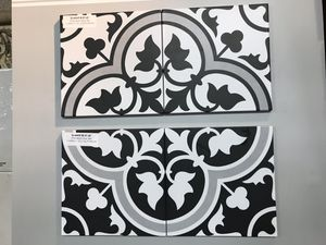 8x8 Deco Tile made from Porcelain for Sale in Upland, CA