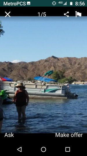 1996 24 ft goffey pontoon boat or trade for Sale in Diamond Bar, CA