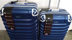 GABBIANO 2 PIECE LUGGAGE SET $110 BRAND NEW 8 WHEELS SPINNERS LIGHT WEIGHT EXPANDER SYSTEM for Sale in HALNDLE BCH, FL