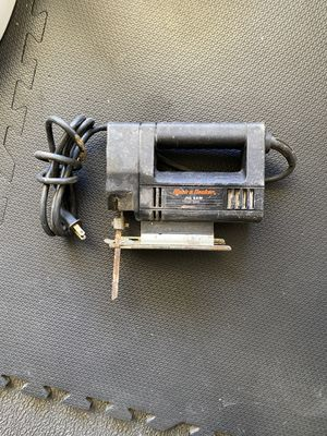 Corded Black & Decker Jigsaw for Sale in Cumming, GA