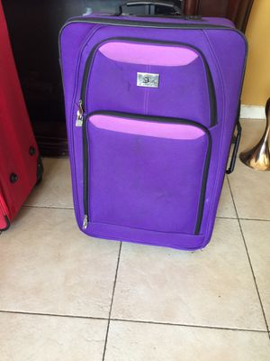 Purple luggage bag for Sale in Baldwin Park, CA
