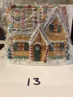 """Pipka """"Chef Claus's Gingerbread House"""" #13726 for Sale in Victoria, VA"""