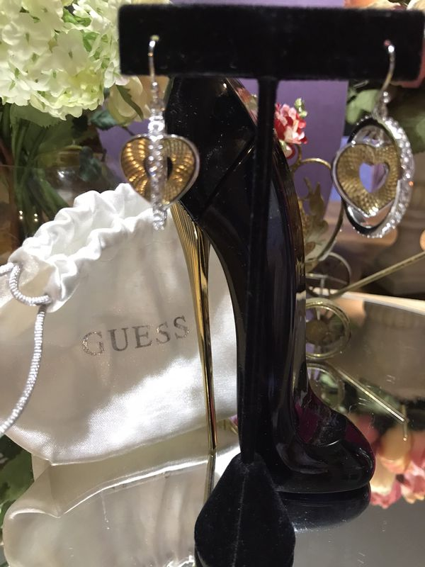 Gorgeous! Silver & Gold GUESS Earrings