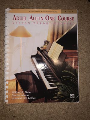 Piano book alfred's all-in-one course for Sale in Carson, CA