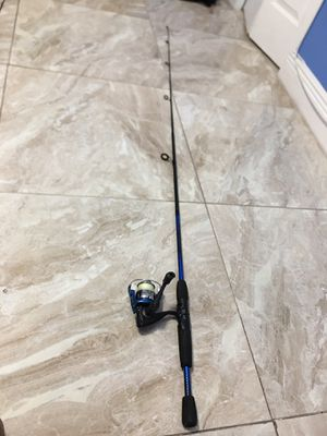 Fishing Rod and Reel. 30lb Braided Line!! for Sale in Boca Raton, FL
