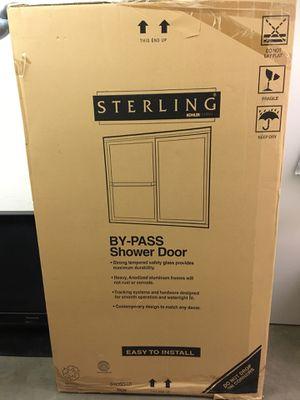 Sterling by Koehler shower door Ellipse pattern silver for Sale in Chatsworth, CA