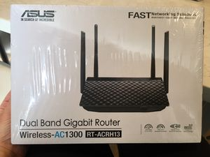 ASUS AC 1300 Wireless Router, Dual Band Gigabit Router for Sale in Scottsdale, AZ