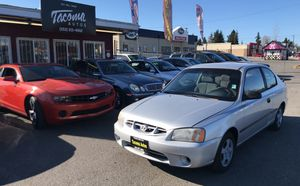 2001 Hyundai Accent 5-speed for Sale in Tacoma, WA