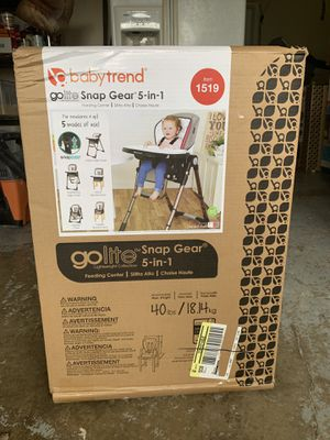 Baby high chair/feeding center/brand new never used in original box on opened retails for $133 for Sale in Portland, OR