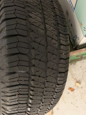 Jeep tires and wheels all five $400 firm for Sale in Exeter, RI
