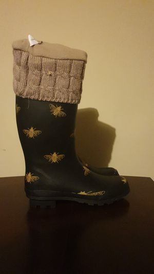 Womens tall rain boots for Sale in Princeton, TX