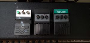 Vintage 80s effects pedals, delay, chorus, phaser for Sale in Moreno Valley, CA