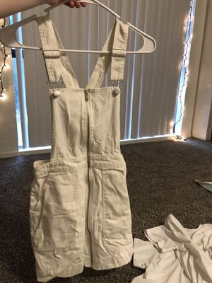 Dress up overalls skirt dress. for Sale in Las Vegas, NV