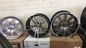 BRAND NEW 20 INCH WHEELS AND TIRES FOR SALE STARTING PRICE $1199 AND UP for Sale in Joint Base Lewis-McChord, WA