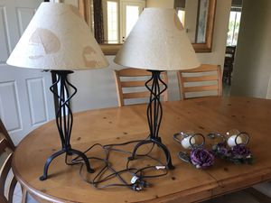 Two Lamps for Sale in Temecula, CA